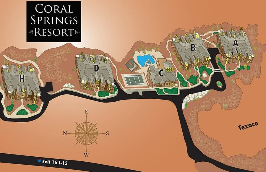 coral springs map