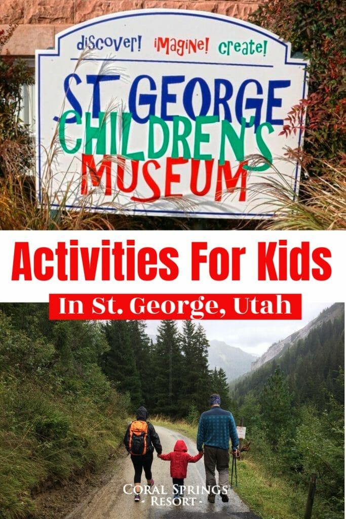 kid friendly activities st george